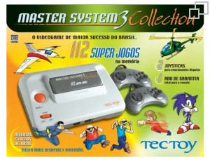 TecToy Master System III Collection: 112 Super Jogos Box [Brazil]