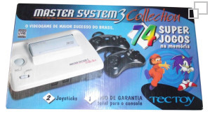 TecToy Master System III Collection: 74 Super Jogos Box [Brazil]