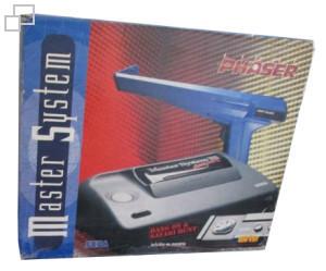 TecToy Master System III Compact Hang-On / Safari Hunt / Lightphaser Box [Brazil]