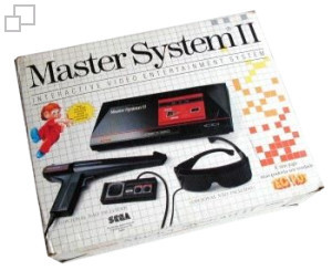 TecToy Master System II Alex Kidd in Miracle World Box [Brazil]