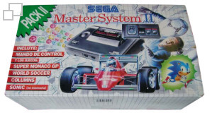 SEGA Master System II Sonic the Hedgehog/Master Games I Box [Spain]