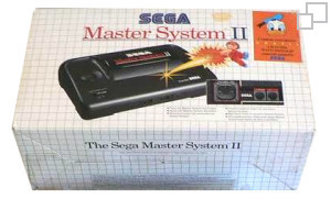 SEGA Master System II Alex Kidd in Miracle World/The Lucky Dime Caper: starring Donald Duck Box [PAL/SECAM]