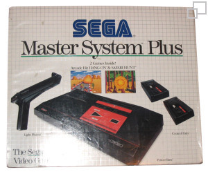 SEGA Master System Hang-On/Safari Hunt Box [PAL/SECAM]
