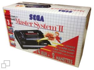 SEGA Master System II Alex Kidd in Miracle World/Master Games I Box [France]