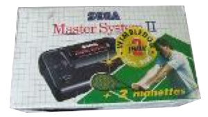 SEGA Master System II Alex Kidd in Miracle World/Wimbledon Box [France]