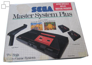 SEGA Master System Hang-On/Safari Hunt/Rescue Mission Box [France]