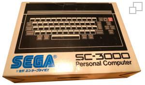 SEGA SC-3000 Black/White/Red Box