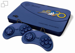 TecToy Master System Evolution [Blue]