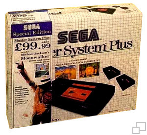 SEGA Master System Hang-On/Safari Hunt/Moonwalker Limited Edition Box [UK]