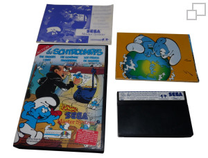 Master System Game with Goodie
